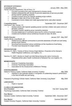 graduate school resume format httpwwwresumecareerinfograduate