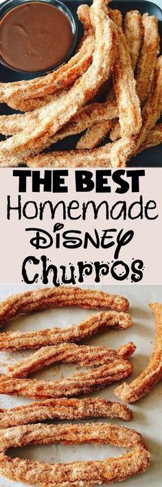 An easy copycat recipe for Disneyland Churros and Disney World Churros plus how to make Lightsaber Churros!