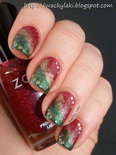 Zoya Ornate Holiday Nail Art