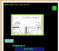 Master Bath Floor Plans No Tub 172939 - The Best Image Search
