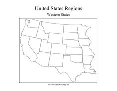 The Eastern States In The US Are Made Up Of All The States East - West us blank map