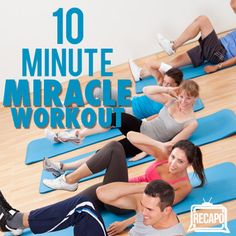 Dr Oz: Tony Horton 10 Minute Miracle Workout & P90X Weight Loss Diet