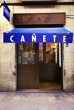 Wermutbar Cañete in #Barcelona. Calle de la Unió, #Raval. http://www.inandoutbarcelona.net/tag/canete/