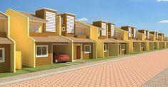 Projetos de casas, incluindo plantas baixas e fotos de fachadas Casas The Sims 4, Interior Exterior, Decoration, Multi Story Building, San, Mansions, Architecture, House Styles, Design