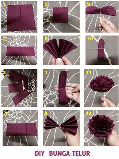 Malay wedding style (bunga telur)