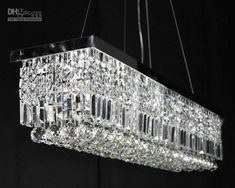 Cheap Crystal Chandelier - Best 100cm Modern Contemporary Crystal Pendant Light Ceiling Lamp Online with $429.35/Piece | DHgate