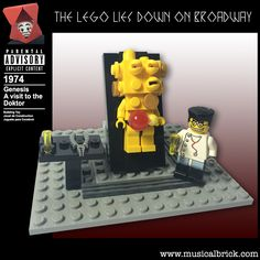 The Lego Lies Down on Broadway - Musical Brick