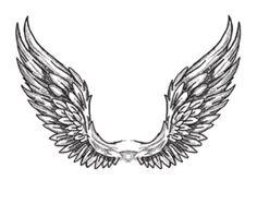 Татуировка крыльев  может означать:скорость, возвышение, свободу, стремление, сильное желание.