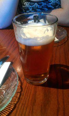 Madison's Sucker Pond Blonde;  A light German bier brewed with saaz hops (Blonde)