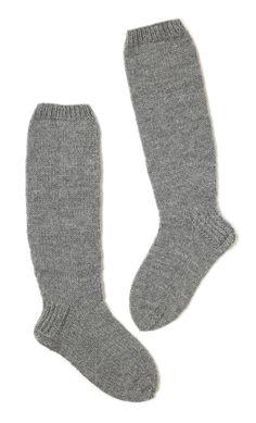 Neulotut pitkävartiset sukat Novita 7 Veljestä | Novita knits