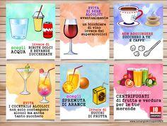 Parliamo di bevande: quali sono le scelte consapevoli?