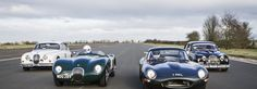 Historische Jaguars strijden in de Heritage Challenge Series