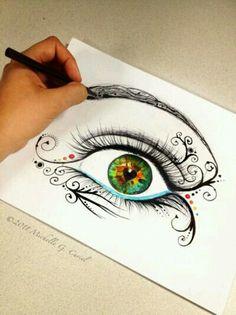 {Abstract eye}