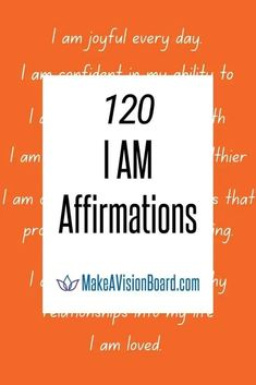 Stop negative self-talk with positive, empowering statements. Check out these 120 I Am Affirmations for self-love, confidence, success, prosperity & lots more - plus a free printable PDF! Affirmations For Happiness, I Am Affirmations, Relationship Bases, Negative Thinking, Confidence Boost, Negative Self Talk, Proud Of Me, Self Love Quotes, Self Care Routine