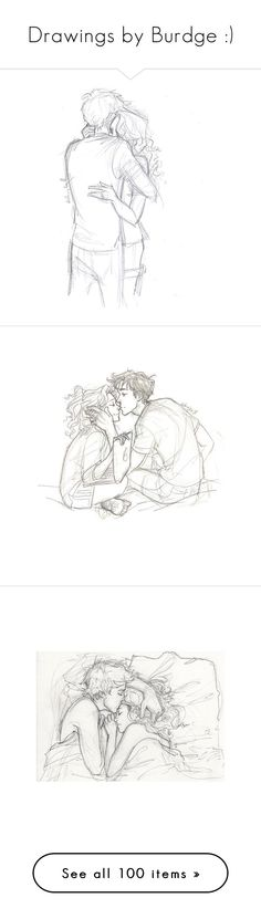 """Drawings by Burdge :)"" by singmesoftlytosleep ❤ liked on Polyvore featuring fillers, drawings, doodles, sketches, couples, text, quotes, saying, scribble and phrase"