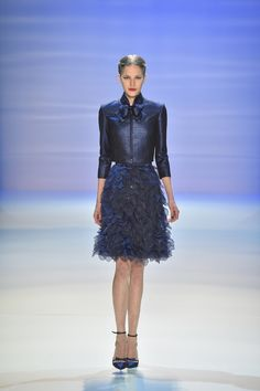 Georges Hobeika, Haute Couture, Fall/Winter 2014-2015 | LOOK 1