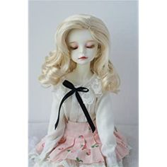 Amazon.com: JD249 7-8inch 1/4 MSD Twins Braids Short Wave Mohair Doll Wigs (Carrot) Doll Wigs, Doll Hair, Bjd Dolls, Twin Braids, Short Braids, Hair Stores, Short Waves, Sewing Crafts, Artsy