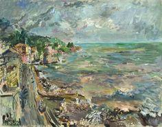 Rapallo in a storm (1933) / by Oskar Kokoschka