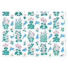 古代文様紙「天平の花模様」 - レトロ印刷JAM オンラインお店