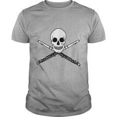 Tie Dye Flute Skull Music Tshirt - Hot Trend T-shirts