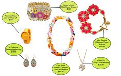 bright and fun spring #jewelry #color
