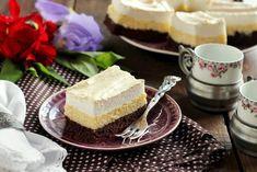 Juditka konyhája: ~ HABOS TÚRÓS SZELET ~ Cheesecake, Food And Drink, Sweets, Plates, Tej, Salad, Licence Plates, Dishes, Gummi Candy
