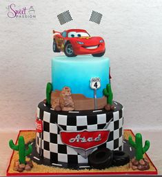 Disney Cars Cake | A Sweet Passion