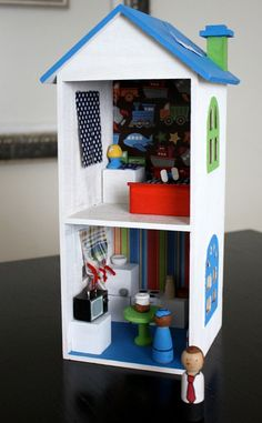 Doll house for a boy!