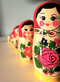 Russian doll art