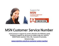 "Check out new work on my @Behance portfolio: ""MSN Toll free Number 
