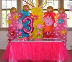 Peppa pig Balloon decorations