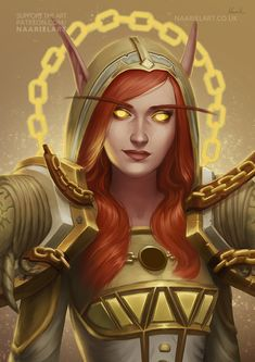 Blizzcon Badge Artwork for Jaymie by Naariel
