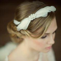 The Abigail Bridal Headband