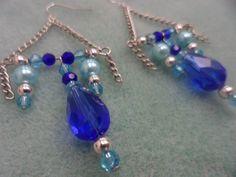 Sapphire Blue Chandelier