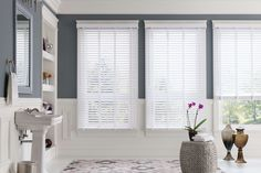Budget Blinds has put together a guide to show you how to clean every type of window covering, no matter if you have wood or faux wood blinds, aluminum or vinyl blinds, fabric blinds or composite blinds. Vinyl Blinds, Fabric Blinds, Blinds For You, Blinds For Windows, Window Blinds, Window Coverings, Window Treatments, Budget Blinds, Blinds Design