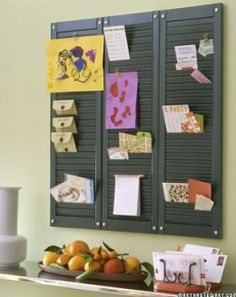 DIY Window Mail Shutter