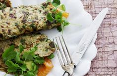 Quinoa-spinat-pandekager