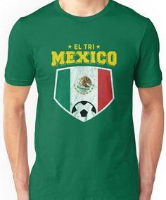 2018 El Tri Mexico Football World Soccer Flag Unisex T-Shirt cd5a53c4c