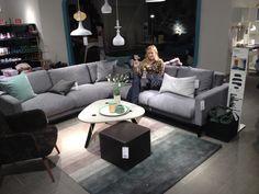 North soffa från Bolia - hörnsoffa med Trendtyg