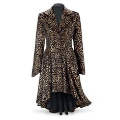 Bewitching Velvet Coat - Women's Clothing & Symbolic Jewelry – Sexy, Fantasy, Romantic Fashions
