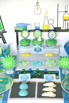 Mad Scientist Birthday Party Ideas | Photo 1 of 56 | Catch My Party