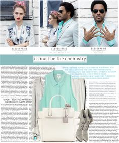 """""""it must be the chemistry."""" by dorc ❤ liked on Polyvore"""