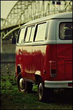VW T1.  Part of the plan; to have a mobile tomsie van, take it to festivals and fun summer times.