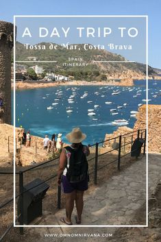 Are you planning a day trip to Tossa de Mar, Costa Brava, Spain? We'll help you plan it with a list of things to see and do in Tossa de Mar. Come check it out and save it to your travel board so you can find it later. #tossademar #spain
