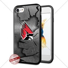 Metal,NCAA,Ball State Cardinals ,iPhone 7 Case Cover Prot…