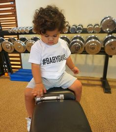 Baby Gains Unisex Baby & Toddler Tee T shirt babywear toddlerwear kids fashion trend setter baby swag retro unique handmade hand designed fitness gym fit fitfam healthy weights strength gym buff Baby Swag, Hand Designs, Baby Grows, Unisex Baby, Baby Wearing, Healthy Weight, Gym Workouts, Kids Fashion, Retro