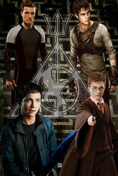 Fandom: Peeta Mellark Thomas Percy Jackson Harry Potter