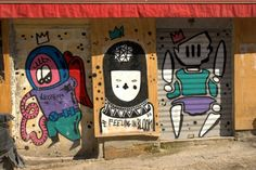 #streetart #Palermo Palermo Italy, Italy Street, Art Quotes, Graffiti, Snoopy, Illustrations, Fictional Characters, Art, Illustration