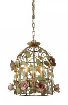 Chandeliers/Pendant Lights By Sterling Industries Iron Cage Pendant 123-006