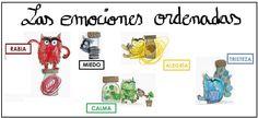 """Actividad 5: Cuento """" EL MONSTRuO DE COLORES"""" - Webquest Las emociones"""